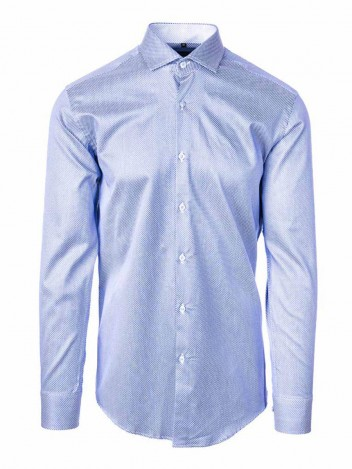 Mens Shirt Marcus Light Blue